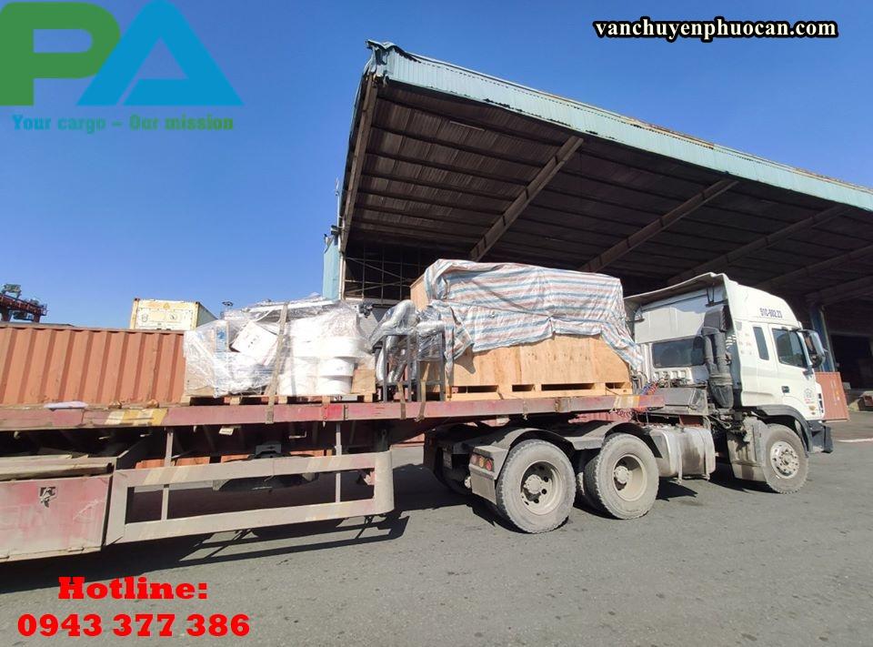 Vận chuyển hàng hóa quá khổ quá tải đi Lào