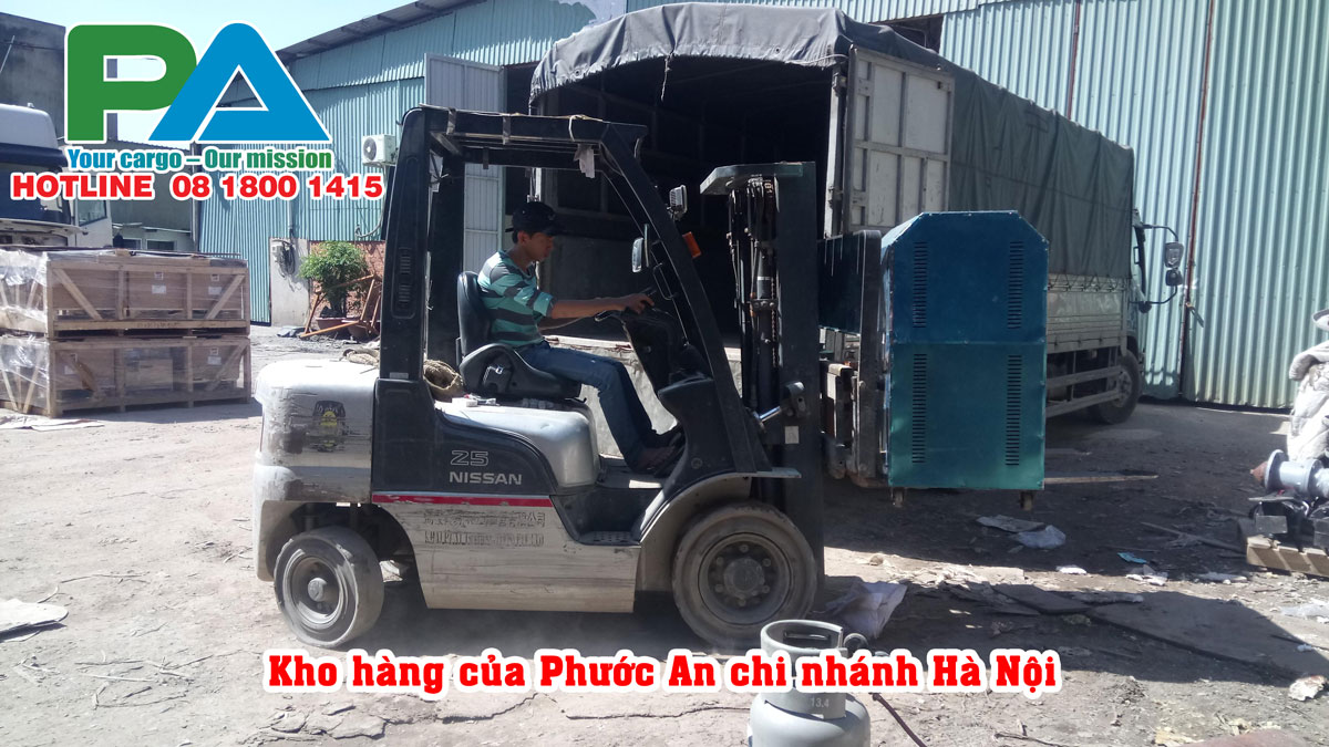 Kho hàng của Phước An chi nhánh Hà Nội