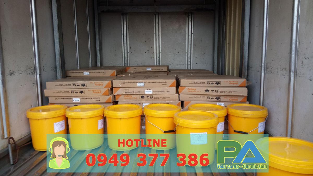 Hàng hóa vận chuyển đi Pakse - Lào