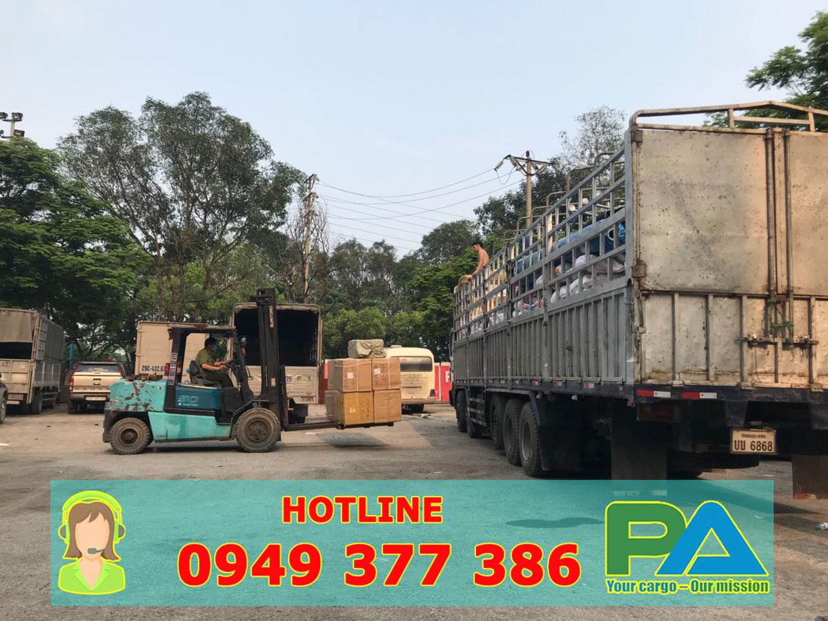 Chành xe vận chuyển hàng từ Sài Gòn đi Pakse