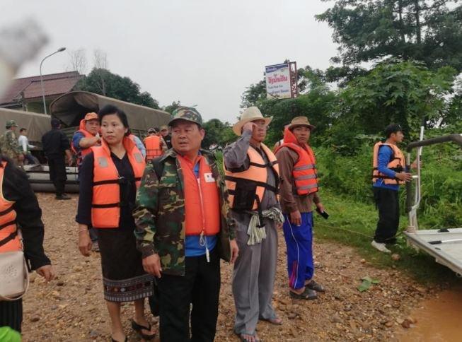 Vỡ đập thủy điện tại Attapeu Lào