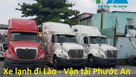 Xe lạnh đi Lào